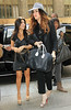 NON-EXCLUSIVE<br /> 2011 June 4 - Khloe Kardashian and Kourtney Kardashian out and about in NYC. Photo Credit Jackson Lee