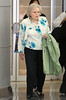 NON-EXCLUSIVE<br /> 2011 June 12 - Betty White arrives at JFK airport in NYC. Photo Credit Jackson Lee