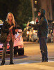 """EXCLUSIVE<br /> 2011 June 15 -  Here's Leonardo DiCaprio meeting up with a Bar Refaeli lookalike - while new girlfriend Blake Lively was on the other side of the country.<br /> The Titanic star - who had his baseball cap pulled down over his face and his hood up in a bid not to be recognized - met the mystery woman at 2am, witnesses said.<br /> An onlooker said: """"He met her outside a building on the Upper West Side of New York, close to the Lincoln Center.<br /> """"They were very touchy feely and seemed to be flirting.""""<br /> These exclusive photos show the pretty blonde laughing and smiling, and putting a hand across the movie star's face, while she smokes a cigarette with her other hand.<br /> Another image shows her nervously biting her nails as he laughs.<br /> The onlooker added: """"They were having fun together. But after a few minutes Leo became nervous and started looking around as though he knew he was being watched.<br /> """"When he realised that the photographers were nearby she suddenly left and he approached them to ask what pictures they have."""""""
