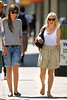EXCLUSIVE<br /> 2011 June 20 - Heidi Bivens, ex-girlfriend of 14 years of Jennifer Aniston's new boyfriend Justin Theroux, goes to lunch with a few friends in NYC. Photo credit Jackson Lee