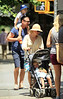 NON-EXCLUSIVE<br /> 2011 June 19 - Liev Schreiber, Naomi Watts take their sons Alexander and Samuel to the park in NYC. Photo Credit Jackson Lee