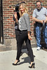 NON-EXCLUSIVE<br /> 2011 June 20 - Cameron Diaz arrives at 'David Letterman Show' in NYC. Photo Credit Jackson Lee