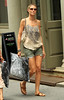 Non-Exclusive<br /> 2011 June 21 - Heidi Klum goes shopping with mom Erna and kids in Soho, NYC. Photo Credit Jackson Lee