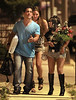 2011 June 27 - Nicole 'Snooki' Polizzi reunites with Jionni LaValle for the first time since they broke up in Italy as they walk with their castmates after dinner with their parents in Seaside Heights, NJ. Photo credit Jackson Lee
