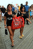NON-EXCLUSIVE<br /> 2011 June 27 - Nicole 'Snooki' Polizzi wears a green color contact lens while shopping on the boardwalk with Deena Cortese in Seaside Heights, NJ.  Photo Credit Jackson Lee