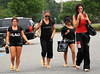 NON-EXCLUSIVE<br /> 2011 June 27 - Nicole 'Snooki' Polizzi, JWoww, Sammi, Deena go to get their nails done in Seaside Heights, NJ<br />   Photo Credit Jackson Lee