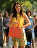 NON EXCLUSIVE<br /> 2011 July 7 - Leighton Meester films on the first day of 'Gossip Girl' in NYC with a new co-star.  Photo Credit Jackson Lee