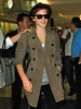 Non-Exclusive <br /> 2011 July 8 - Emma Watson lands in New York from London via JFK Airport. Photo Credit Jackson Lee