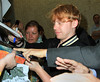 Non-Exclusive <br /> 2011 July 8 - Rupert Grint lands in New York from London via JFK Airport. Photo Credit Jackson Lee