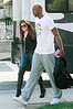 NON EXCLUSIVE<br /> 2011 July 18 - Khloe Kardashian and Lamar Odom out and about after Lamar's vehicle was in an accident with a motorcyclist and a 15 year old boy  Photo Credit Jackson Lee