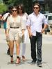 Non-Exclusive <br /> 2011 July 18 - Kim Kardashian, Lala Vasquez and Jonathan Cheban take a walk to the 'Dash' store in SOHO, NYC.  Photo Credit Jackson Lee
