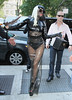 NON EXCLUSIVE<br /> 2011 July 18 - Lady Gaga arrives at Z100 Studios in NYC.  Photo Credit Jackson Lee