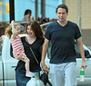 "EXCLUSIVE<br /> 2011 July 25 - Alyson Hannigan and Alexis Denisof take their adorable daughter Satyana Denisof on a shopping spree in Atlanta, GA.  Alyson is in town to film the next installment of the American Pie series, ""American Reunion"".  Photo Credit Jackson Lee"