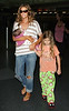 EXCLUSIVE<br /> 2011 July 25 - Denise Richards arrives in NYC for the first time with newly-adopted Eloise and Sam and Lola in tow.  Photo Credit Jackson Lee