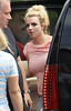 Britney Spears departs her NYC hotel with Jayden James and Sean Preston