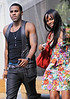 Non-Exclusive <br /> 2011 Aug 11 - Jason Derulo and gossip girl-friend Tika Sumpter out and about in NYC  Photo Credit Jackson Lee