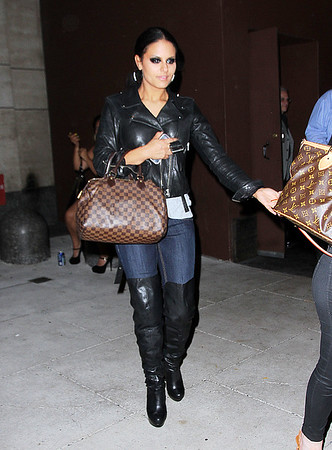 Non-Exclusive <br /> 2011 Aug 16 - Pia Toscano has dinner at Tao with boyfriend Mark Ballas (not pictured) in NYC.  Photo Credit Jackson Lee