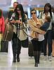 NON EXCLUSIVE<br /> 2011 Aug 29 - Kim Kardashian, Kourtney Kardashian, Scott Disick and Mason Disick arrive at JFK airport in NYC  Photo Credit Jackson Lee