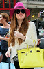 Non-Exclusive <br /> 2011 Sep 1 - Khloe Kardashian arrives at her NYC hotel   Photo Credit Jackson Lee