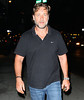 NON EXCLUSIVE<br /> 2011 Sept 4 - Russell Crowe is all smiles after having dinner at Nello in NYC.  Photo Credit Jackson Lee