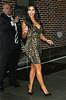 Non-Exclusive <br /> 2011 Sept 6 - Kim Kardashian, Kourtney Kardashian, Khloe Kardashian depart the 'David Letterman Show' in NYC.   Photo Credit Jackson Lee