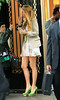 Non-Exclusive <br /> 2011 Sept 7 - Blake Lively at the set of 'Gossip Girl' in rainy NYC.  Photo Credit Jackson Lee