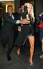 Non-Exclusive <br /> 2011 Sept 6 - Lindsay Lohan departs Yves Saint Laurent during Fashion's Night Out in NYC.  Photo Credit Jackson Lee