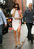 Non-Exclusive <br /> 2011 Sept 15 - Victoria Beckham takes baby Harper Seven shopping at Prada, FAO Shwarz, and Marc Jacob stores in NYC. Photo Credit Jackson Lee