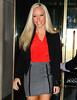 NON EXCLUSIVE<br /> 2011 Sept 19 - Kendra Wilkinson departs NBC studios in NYC. Photo Credit Jackson Lee