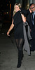 NON EXCLUSIVE<br /> 2011 Sept 22 - Jennifer Aniston and Justin Theroux go to dinner at Il Cantinori in NYC. They started the evening at a charity auction for Haiti at Christie's. Jennifer is wearing a little black dress. They had dinner with Ben Stiller and his wife.  Photo Credit Jackson Lee