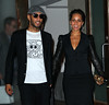 Non-Exclusive <br /> 2011 Sept 26 - Alicia Keys and Swizz Beatz out and about in NYC. Photo Credit Jackson Lee