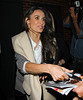Non-Exclusive <br /> 2011 Sept 26 - Demi Moore out and about in NYC. Photo Credit Jackson Lee