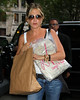 Non-Exclusive <br /> 2011 Sept 28 - Jennifer Aniston goes shopping at ABC carpet in NYC. Photo Credit Jackson Lee