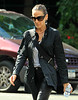 Non-Exclusive <br /> 2011 Sept 29 - Sarah Jessica Parker out and about in NYC holding a Smartwater bottle. Photo Credit Jackson Lee