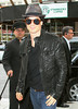 Exclusive<br /> 2011 Oct 1 - Ian Somerhalder and Nina Dobrev arrive at their hotel in NYC. Photo Credit Jackson Lee