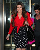 Exclusive<br /> 2011 Oct 3 - Khloe Kardashian departs NBC studios after appearing live on 'Hoda & Kathy Lee' in NYC. Photo Credit Jackson Lee