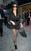 NON EXCLUSIVE<br /> 2011 Oct 5 - Kourtney Kardashian picks up a copy of the NY Post in NYC   Photo Credit Jackson Lee
