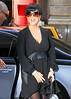 NON EXCLUSIVE<br /> 2011 Oct 5 - Kris Jenner and Scott Disick go to NBC Studios in NYC, Photo Credit Jackson Lee
