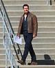 NON EXCLUSIVE<br /> 2011 Oct 7 - Tom Cruise films 'One Shot' in Pittsburgh, PA.  Photo Credit Jackson Lee