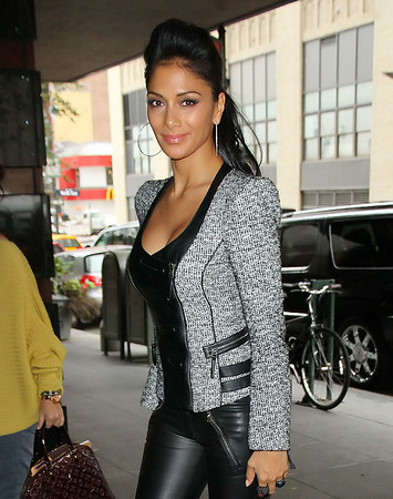 Non-Exclusive<br /> 2011 Oct 12 - Nicole Scherzinger out and about in NYC. Photo Credit Jackson Lee