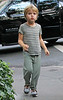Non-Exclusive<br /> 2011 Oct 15 - Jay-Z and Chris Martin have lunch at the Standard Grill in NYC while Gwyneth takes the kids out Halloween outfit shopping (not pictured). Photo Credit Jackson Lee