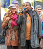 Non-Exclusive<br /> 2011 Oct 17 - Denise Richards, Tina Fey, and Tracy Morgan on location at '30 Rock' in NYC. Photo Credit Jackson Lee