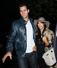Non-Exclusive<br /> 2011 Oct 21 - Kim Kardashian celebrates her 31st birthday at The Darby with a ringless Kris Humphries, Kourtney Kardashian and Scott Disick in NYC  Photo Credit Jackson Lee