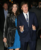 Non-Exclusive<br /> 2011 Oct 21 - Paul McCartney and Nancy Shevell celebrate their union in NYC at the Bowery Hotel. Photo Credit Jackson Lee