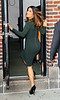 Non-Exclusive<br /> 2011 Oct 24 - Salma Hayek at 'David Letterman Show' in NYC. Photo Credit Jackson Lee