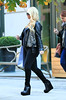 Non-Exclusive<br /> 2011 Oct 25 - Jessica Simpson shows her huge belly when heading out of her hotel in NYC. Photo Credit Jackson Lee