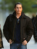 Non-Exclusive<br /> 2011 Nov 5 - Christian Bale on the set of 'Dark Knight Rises' in NYC. Photo Credit Jackson Lee