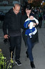 Non-Exclusive<br /> 2011 Nov 09 - Selma Blair and husband Ahmet Zappa takes baby Arthur Saint out for some pictures in NYC. Photo Credit Jackson Lee