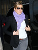 Non-Exclusive<br /> 2011 Nov 10 - Jennifer Aniston out and about with Justin Theroux (not pictured) in NYC.  Photo Credit Jackson Lee