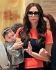 Non-Exclusive<br /> 2011 Nov 15 - Victoria Beckham and baby Harper Seven Beckham visit FAO Schwarz in NYC. Photo Credit Jackson Lee
